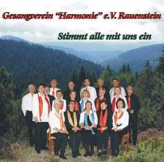 """Gesangsverein Harmonie e.V. Rauenstein """"Stimmt alle mit uns ein"""""""