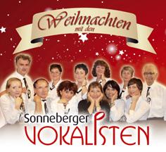 Vokalisten Weihnacht Pressefotokl